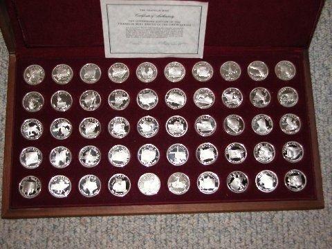 Franklin Mint Coin Set