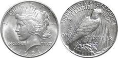 Sell Peace Silver Dollars