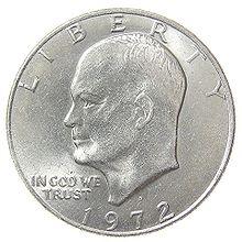 Eisenhower Silver Dollar