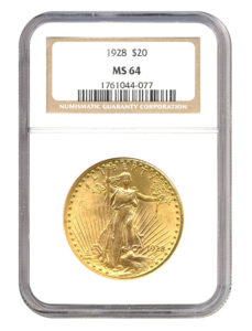 NGC Certified slabbed coin from Atlanta Gold & Coin